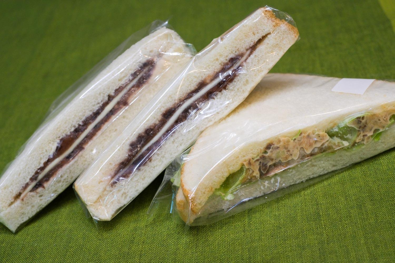 サンドイッチ「アン」のあんチーズサンド